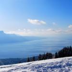 Vue sur le Lac depuis le sommet de Corbetta